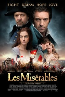 <i>Les Misérables</i> (2012 film) 2012 musical film by Tom Hooper
