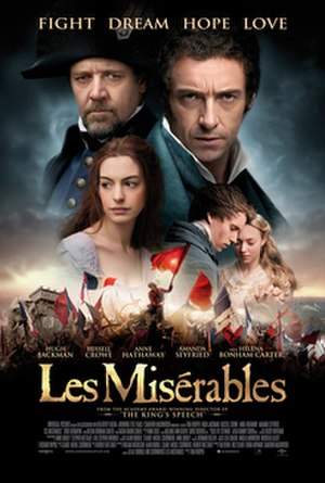 Les Misérables (2012 film) - Theatrical release poster