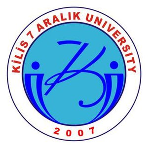Kilis - Logo of Kilis 7 Aralık University