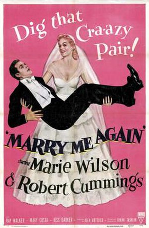 Marry Me Again - Theatrical release poster