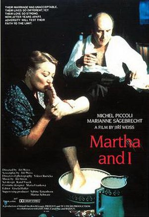 Martha and I - U.S. theatrical release poster