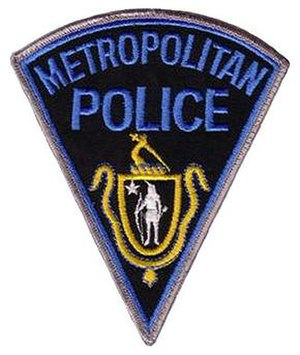 Massachusetts Metropolitan Police patch