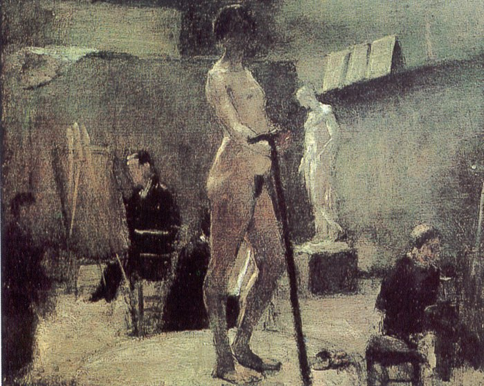 Matisse the study of moreau