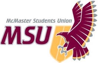 McMaster Students Union - Image: Mc Master Students Union (emblem)