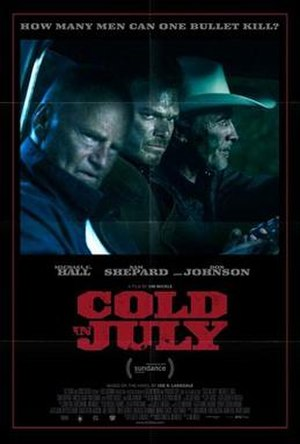 Cold in July (film) - Theatrical release poster