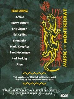 <i>Music for Montserrat</i> 1998 live album by Various Artists