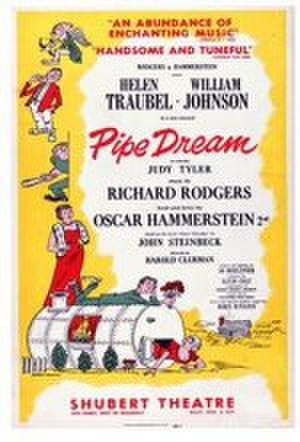 Pipe Dream (musical) - Original Broadway poster (1955)