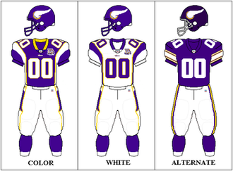 2010 Minnesota Vikings season - Image: NFCN Uniform MIN 2010