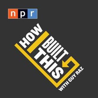 How I Built This - Image: NPR How I Built This cover art