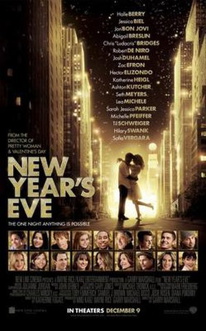 New Year's Eve (2011 film) - Theatrical release poster
