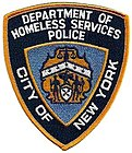 New York City Department of Homeless Services Police patch.jpg