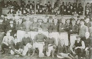 Newcastle East End F.C. - East End team in 1890.