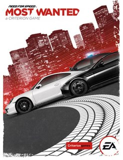 <i>Need for Speed: Most Wanted</i> (2012 video game) 2012 racing video game by Criterion Games