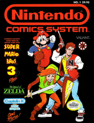 Nintendo Comics System - Cover of the first issue