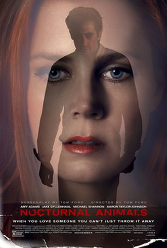 Nocturnal Animals - Theatrical release poster