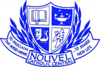 Nouvel Catholic Central High School crest.png
