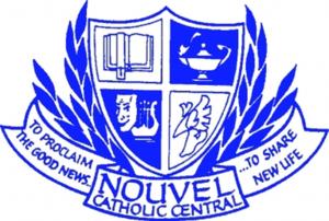 Nouvel Catholic Central High School - Image: Nouvel Catholic Central High School crest