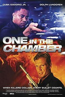 <i>One in the Chamber</i> 2012 American action film