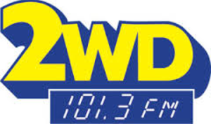 WWDE-FM - Original Logo used until April 2013.