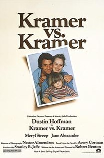 <i>Kramer vs. Kramer</i> 1979 film by Robert Benton