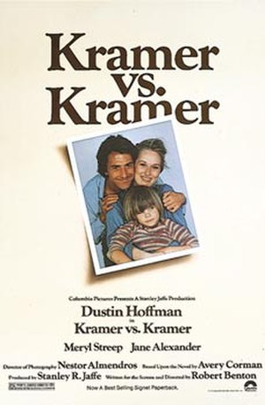 Kramer vs. Kramer - Original film poster