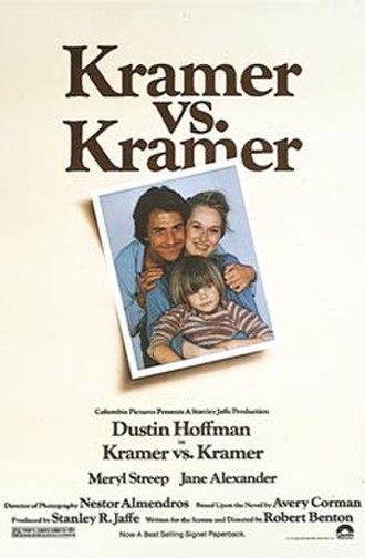 Kramer vs. Kramer - Original film poster