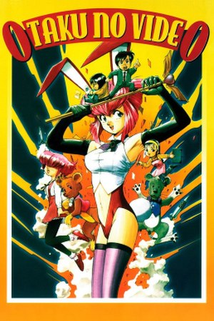 Gainax - DVD cover of North American release of Otaku no Video.