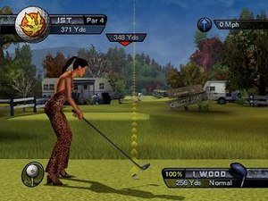 Outlaw Golf - Outlaw Golf maintains the traditional rules of golf while adding adult-themes such as sexuality and violence.
