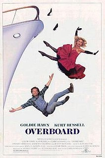 <i>Overboard</i> (1987 film) 1987 film by Garry Marshall