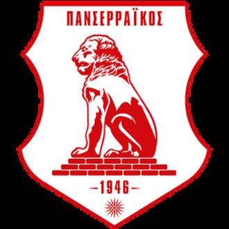 Panserraikos F.C. - Image: Panseraikos new emblem