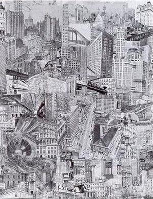 Paul Citroen - Metropolis (1923)