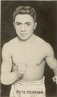 Pete Herman American boxer