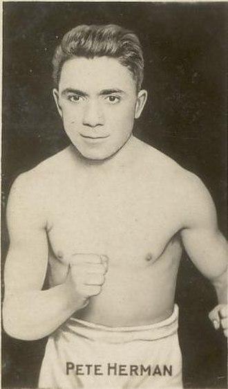 Jackie Sharkey - Champion Pete Herman