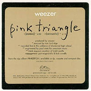 Pink Triangle (song) - Image: Pink Triangle (Radio Promo)