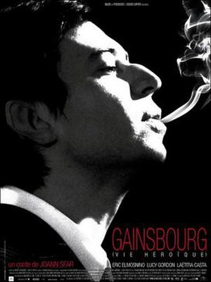Gainsbourg: A Heroic Life - Promotional poster