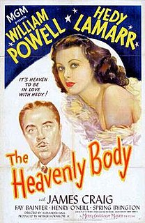 <i>The Heavenly Body</i> 1944 film by Vincente Minnelli, Alexander Hall