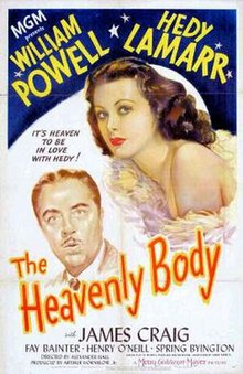 Poster of the movie The Heavenly Body.jpg
