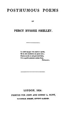 Posthumous Poems Percy B. Shelley 1824.jpg