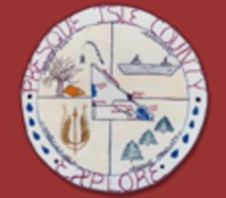 Presque Isle County, Michigan - Image: Presque isle seal