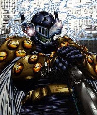 Prometheus (DC Comics) - Image: Prometheshock
