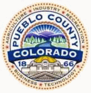 Pueblo County, Colorado - Image: Pueblo County, Colorado seal