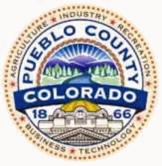 Pueblo County, Colorado - Image: Pueblo County, Colorado seal
