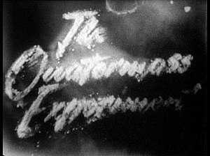 The Quatermass Experiment - The Quatermass Experiment opening titles