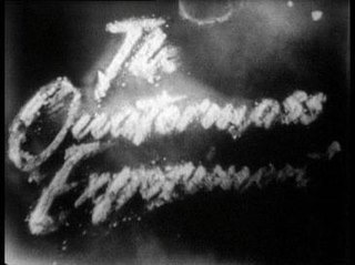 <i>The Quatermass Experiment</i> British science-fiction serial