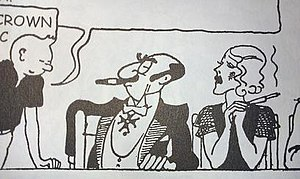 Rastapopoulos - Image: Rastapopoulos prototype in Tintin in America