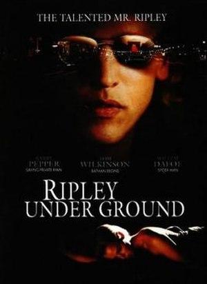 Ripley Under Ground (film) - Film poster