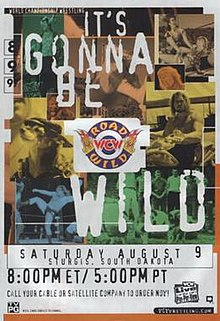 Image result for wcw road wild 1997