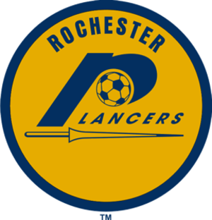 Rochester Lancers (1967–80) - Image: Rochester Lancers 70logo