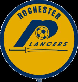 Rochester Lancers (1967–80) - Image: Rochester Lancers 70logo