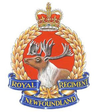 Royal Newfoundland Regiment - The badge of The Royal Newfoundland Regiment.
